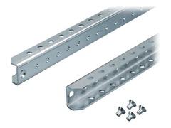 Rittal Montageschiene gelocht Stahlblech 25 mm TS 8612.760 2 St.