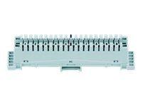 """3M FlexiRail LSA-PLUS Series 2 - Abschaltblock - weiß - 48.3 cm (19"""")"""