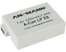 Ansmann A-Can LP-E8 - Batterie Li-Ion 1000 mAh