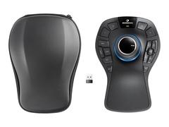 3Dconnexion SpaceMouse Pro Wireless - 3D-Maus - 15 Tasten - kabellos - 2.4 GHz - kabelloser Empfänger (USB)