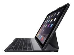 Belkin QODE Ultimate Lite - Tastatur und Foliohülle - Bluetooth - Schwarz - für Apple 9.7-inch iPad (5. Generation)
