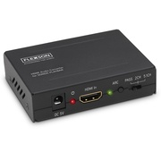 Flexson FLXHDX11021 Audio-Konverter Schwarz