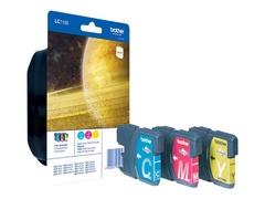 Brother LC-1100 Rainbow Pack - Gelb, Cyan, Magenta