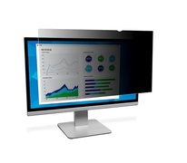 3M Black Privacy Filter for 24.5 in Full Screen Monitor