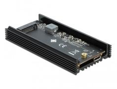 Delock 42000 - M.2 - M.2 - USB Konnektivität - Schwarz