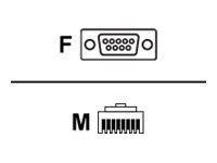 Avaya Kabel seriell - DB-9 (W) bis RJ-45 (M)