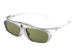 Acer E4w DLP - 3D-Brille - Active Shutter - weiß, Silber