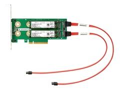 HPE Universal SATA HHHL M.2 Kit - Schnittstellenadapter