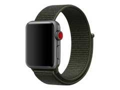 Apple 38mm Nike Sport Loop - Uhrarmband - 130 - 190 mm - Cargo Khaki - für Watch (38 mm, 40 mm)