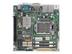 Supermicro X11SCV-Q - Motherboard - Mini-ITX - LGA1151 Socket - Q370 - USB 3.1 Gen 1, USB-C Gen1 - 2 x Gigabit LAN - Onboard-Grafik (CPU erforderlich)