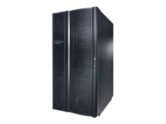 APC InRow SC System 2 50Hz 1PH units, 1 NetShelter SX Rack 600mm, and Rear Containment