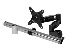 """Arctic Z+1 Pro - Montagekomponente (Stange, Klammer, Montagearm, Anschlussstück für Stange, Kabelklammer) für LCD-Display - Aluminiumlegierung - Bildschirmgröße: 33-81.3 cm (13""""-32"""")"""