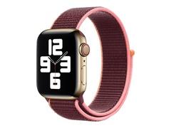 Apple 40mm Sport Loop - Uhrarmband für Smartwatch - Normalgröße - Pflaume - Demo - für Watch (38 mm, 40 mm)