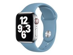 Apple 40mm Sport Band - Uhrarmband für Smartwatch - Normalgröße - Northern Blue - Demo - für Watch (38 mm, 40 mm)
