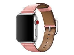 Apple 38mm Classic Buckle - Uhrarmband - 130 - 195 mm - Rosa - für Watch (38 mm, 40 mm)