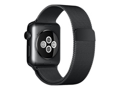 Apple 38mm Milanese Loop - Uhrarmband - 130 - 180 mm - Space Black - für Watch (38 mm)