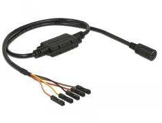 Navilock 62883 - 5 pin - MD6 - Female connector / Female connector - 0,52 m - Schwarz