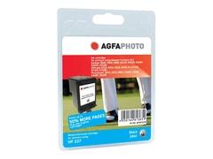 AgfaPhoto 24 ml - Schwarz - wiederaufbereitet - Tintenpatrone (Alternative zu: HP 337, HP C9364EE)