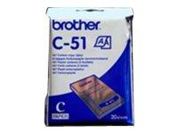 Brother C-51 - A7 (74 x 105 mm) 30 Blatt Thermopapier