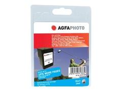AgfaPhoto 24 ml - Schwarz - wiederaufbereitet - Tintenpatrone (Alternative zu: HP 338, HP C8765EE)