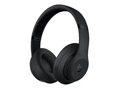 Apple Studio3 Wireless - Kopfhörer mit Mikrofon - ohrumschließend - Bluetooth - kabellos - aktive Rauschunterdrückung - Geräuschisolierung - mattschwarz - für iPhone SE (2nd generation)