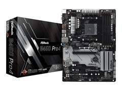 ASRock B450 Pro4 - Motherboard - ATX - Socket AM4 - AMD B450 - USB 3.1 Gen 1, USB-C Gen2, USB 3.1 Gen 2 - Gigabit LAN - Onboard-Grafik (CPU erforderlich)