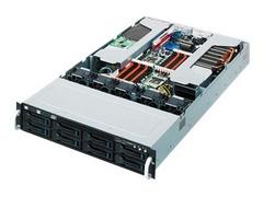 "ASUS ESC4000/IB - Server - Rack-Montage - 2U - zweiweg - RAM 0 GB - SATA - Hot-Swap 8.9 cm (3.5"")"