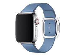 Apple 40mm Modern Buckle - Uhrarmband für Smartwatch - Large - Kornblume - für Watch (38 mm, 40 mm)