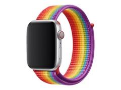 Apple 44mm Sport Loop - Pride Edition - Uhrarmband für Smartwatch - Regulär (für Handgelenke 145 - 220 mm)