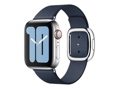 Apple 40mm Modern Buckle - Uhrarmband für Smartwatch - Large - Tiefseeblau - für Watch (38 mm, 40 mm)