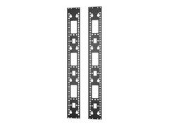 APC Easy Rack - Rack-Zubehörkanal (vertikal) - Schwarz - 24U (Packung mit 2)