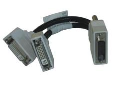 Fujitsu CFO:LFH59-KABEL DVI 2 x DVI Schwarz DVI-Kabel