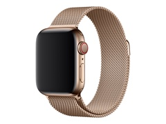 Apple 40mm Milanese Loop - Uhrarmband für Smartwatch - 130 - 180 mm - Gold - für Watch (38 mm, 40 mm)