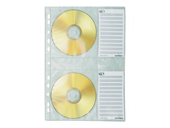 Durable CD-Umschläge - Kapazität: 4 CD/DVD