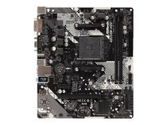 ASRock AB350M-HDV R4.0 - Motherboard - micro ATX - Socket AM4 - AMD B350 FCH - USB 3.1 Gen 1 - Gigabit LAN - Onboard-Grafik (CPU erforderlich)