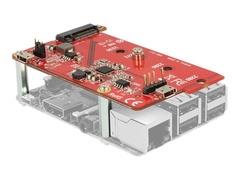 Delock Speicher-Controller - M.2 - SATA - USB