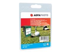 AgfaPhoto 12 ml - Farbe (Cyan, Magenta, Gelb) - wiederaufbereitet - Tintenpatrone (Alternative zu: HP 342, HP C9361EE)