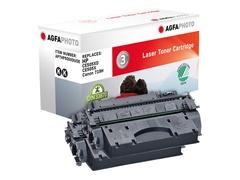 AgfaPhoto 2er-Pack - Schwarz - Tonerpatrone (Alternative zu: HP 05X, HP CE505X, HP CE505XD)