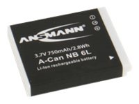 Ansmann A-Can NB 6 L - Kamerabatterie 750 mAh