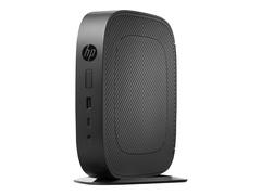 HP t530 - Thin Client - Tower - 1 x GX-215JJ 1.5 GHz - RAM 8 GB - Flash 32 GB - Radeon R2E - GigE - WLAN: 802.11a/b/g/n/ac, Bluetooth 4.2 - Win Embedded Standard 7E 32-Bit (mit Win 10 IoT Lizenz)