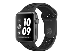 Apple Watch Nike+ Series 3 (GPS) - 38 mm - Weltraum grau Aluminium