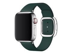 Apple 40mm Modern Buckle - Uhrarmband für Smartwatch - Large - Forest Green - für Watch (38 mm, 40 mm)