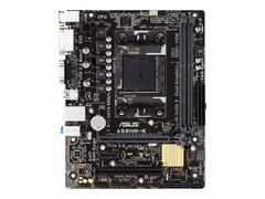 ASUS A68HM-K - Motherboard - micro ATX - Socket FM2+ - AMD A68H - USB 3.0 - Gigabit LAN - Onboard-Grafik (CPU erforderlich)