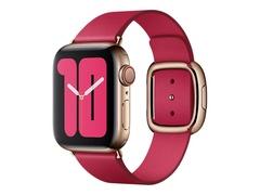 Apple 40mm Modern Buckle - Uhrarmband für Smartwatch - Large - himbeerfarben - für Watch (38 mm, 40 mm)