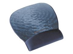 3M Precise Mousing Blue water - Mauspad mit Handgelenkpolsterkissen