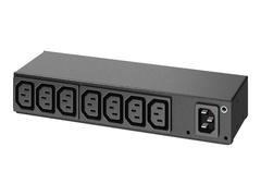 APC Basic Rack PDU AP6015A - Stromverteilungseinheit (Rack - einbaufähig)