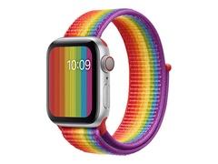 Apple 40mm Sport Loop - Pride Edition - Uhrarmband für Smartwatch - Normal - Demo - für Watch (38 mm, 40 mm)