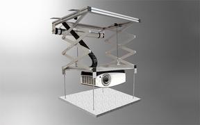 celexon Ceiling installation set - Befestigungskit (Deckenmontage)