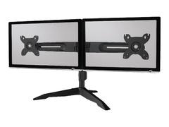"""Aavara Aufstellung für 2 LCD-Displays - Stahl, Aluminiumlegierung - Bildschirmgröße: 38.1-61 cm (15""""-24"""")"""