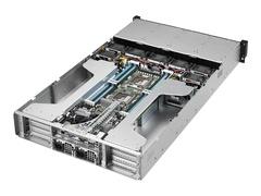 "ASUS ESC4000-FDR G2S - Server - Rack-Montage - 2U - zweiweg - RAM 0 GB - SATA - Hot-Swap 8.9 cm (3.5"")"